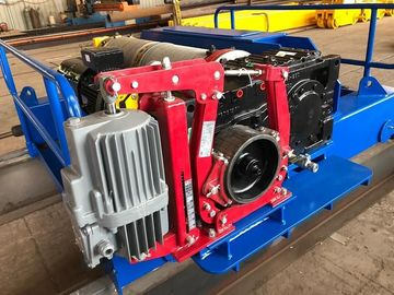 China High Speed Electric Hoist Winch Used for Cranes as Main Hoist Hydraulic Thruster brake factory