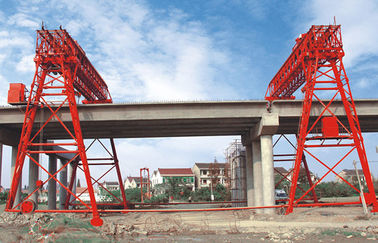 China QM70T- 30M - 22M Bridge Construction Site Truss Double Girder Gantry Crane distributor