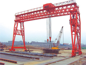 China QM Truss Girder Stockyards Gantry Crane / 70T- 30M - 22M / distributor