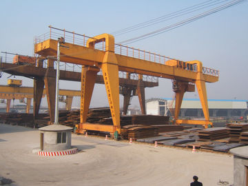China MG120t - 32m - 22m Double Beam Gantry Crane For Steel Factory / Port / Shipbuilding distributor