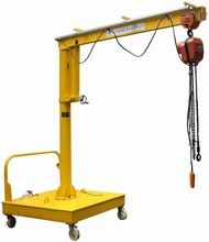 China Movable Motorized Rotation Wall Mount Jib Crane For Control / Position A Load factory