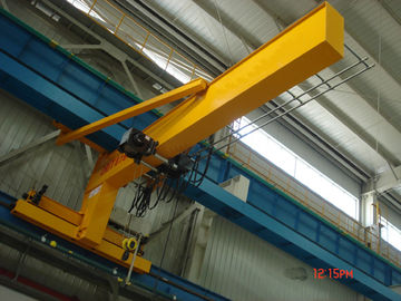 China Festoon Systems Wall Travelling Jib Crane Long Life Jib Boom Crane Motorized Rotation factory
