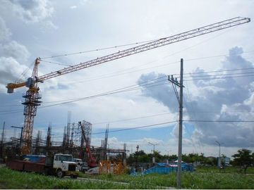 China Finite-element Analysis Advanced Safety Devices TC6015 Tower Cranes distributor
