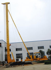 China Hydraulic Walking Multifunctional Vibrating Pile Driver With 360 ° Rotation distributor
