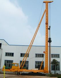 China DCB60-15 Hydraulic Walking Compaction Hammer Pile Driver with Steel Sunken Tube distributor