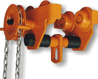 China GCL 619 Geared Single Trolley Manual Chain Hoist With Simple And Useful Structure For Mine distributor