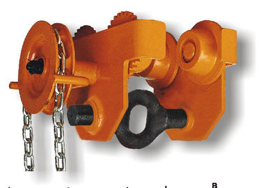 China 0.5T-30T Capacity GCL 620 Series Geared Single Trolley Manual Chain Hoist For Warehouses distributor