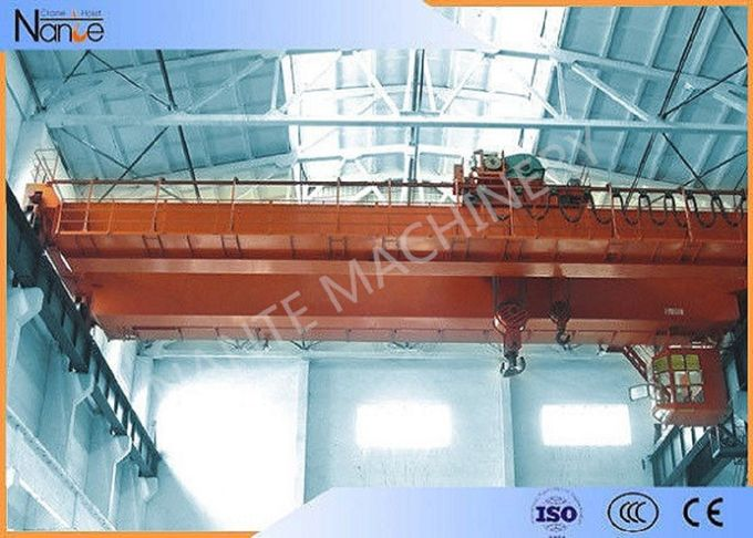 LH10t-20m Custom Electric Traveling  Double Girder Overhead Cranes For Machine Shops
